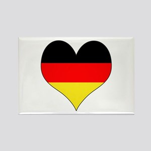 Germany Heart Rectangle Magnet