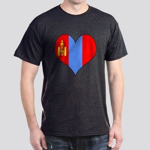 Mongolia Heart Dark T-Shirt