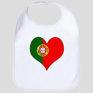 Portugal Heart Bib