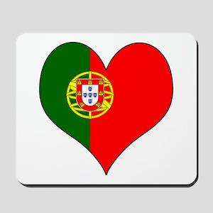 Portugal Heart Mousepad