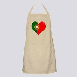 Portugal Heart Apron