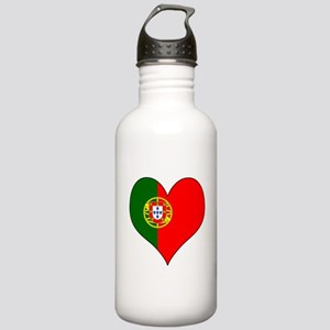 Portugal Heart Stainless Water Bottle 1.0L