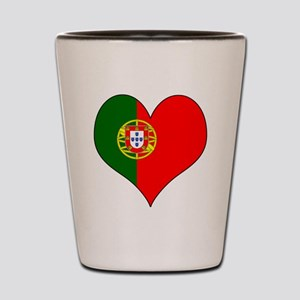 Portugal Heart Shot Glass