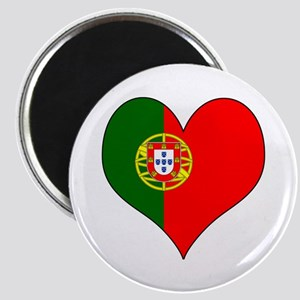 Portugal Heart Magnet