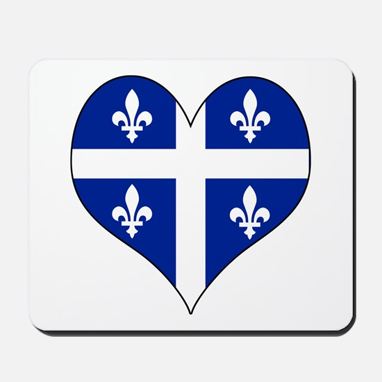 Quebec Heart Mousepad