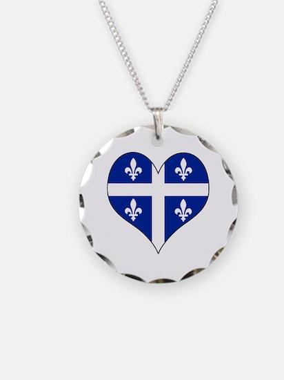 Quebec Heart Necklace