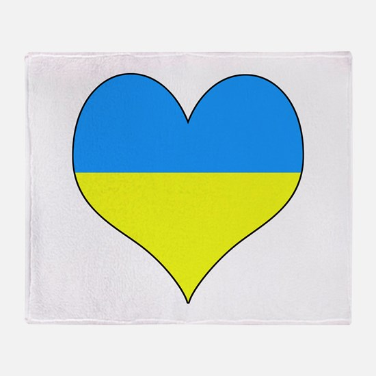 Cute Ukranian Throw Blanket