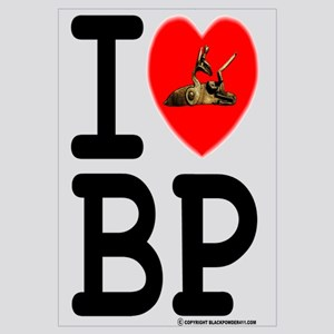 I Love (heart) Black Powder