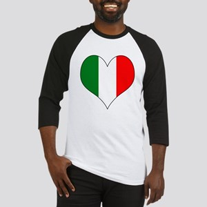 Italy Heart Baseball Jersey