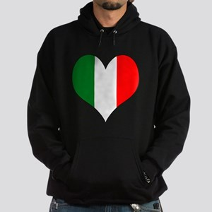 Italy Heart Hoodie (dark)