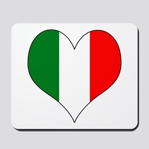 Italy Heart Mousepad