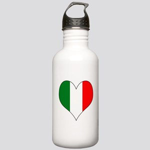 Italy Heart Stainless Water Bottle 1.0L
