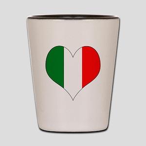 Italy Heart Shot Glass