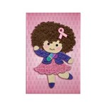 Little Emma (BCA Pink) Rectangle Magnet