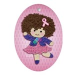 Little Emma (BCA Pink) Ornament (Oval)