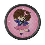 Little Emma (BCA Pink) Large Wall Clock