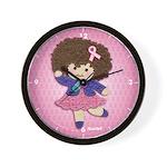 Little Emma (BCA Pink) Wall Clock