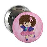 """Little Emma (BCA Pink) 2.25"""" Button (100 pack"""