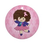 Little Emma (BCA Pink) Ornament (Round)