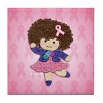Little Emma (BCA Pink) Tile Coaster