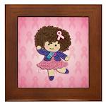 Little Emma (BCA Pink) Framed Tile