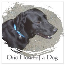 one howl of a dog Poster