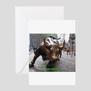 Wall street greeting cards cafepress greeting card m4hsunfo