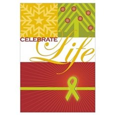 Celebrate Life Holiday Collection Prin Framed Print