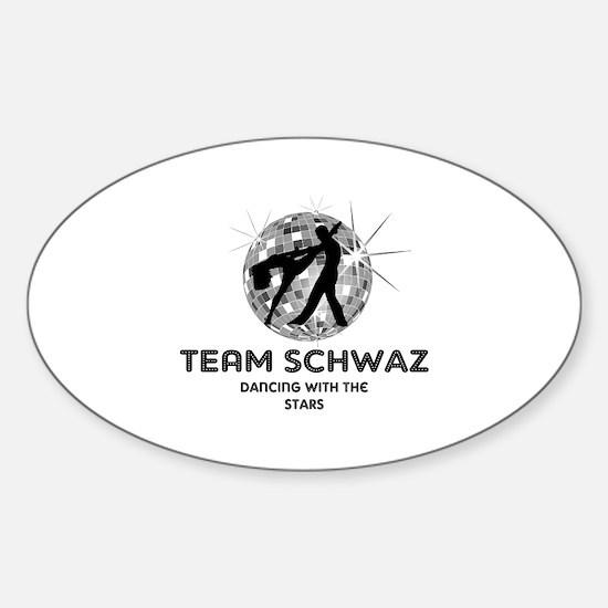 Team Schwaz Sticker (Oval)