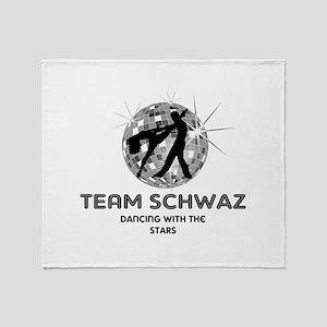 Team Schwaz Throw Blanket