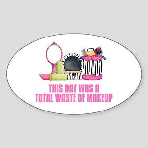 Makeup Sticker (Oval)