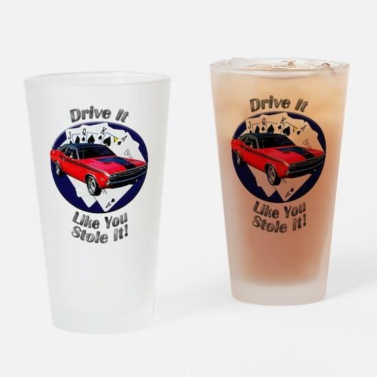 Dodge Challenger R/T Drinking Glass
