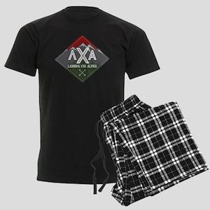 Lambda Chi Alpha Mountains Dia Men's Dark Pajamas