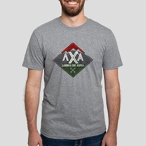 Lambda Chi Alpha Mountains Mens Tri-blend T-Shirts