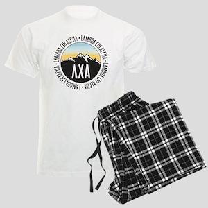 Lambda Chi Alpha Mountain Sun Men's Light Pajamas