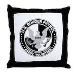 US Border Patrol mx  Throw Pillow