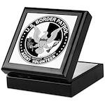 US Border Patrol mx Keepsake Box