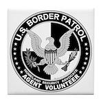 US Border Patrol mx Tile Coaster