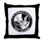 US Border Patrol mx2  Throw Pillow