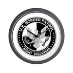 US Border Patrol mx2  Wall Clock