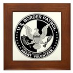US Border Patrol mx2 Framed Tile
