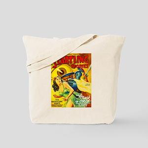 Startling Giant Killer Cover Art Tote Bag