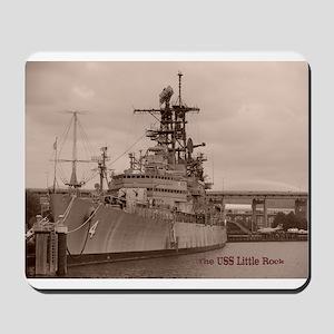 USS Little Rock Mousepad