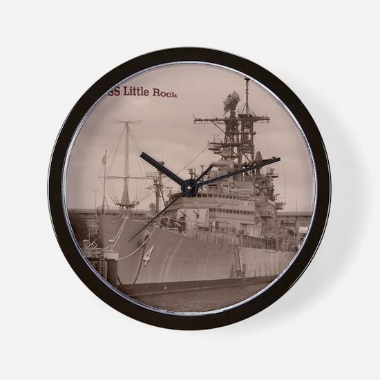 USS Little Rock Wall Clock