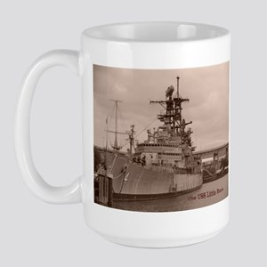USS Little Rock Large Mug