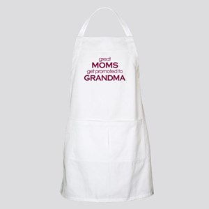 Great moms get promoted to grandma Apron