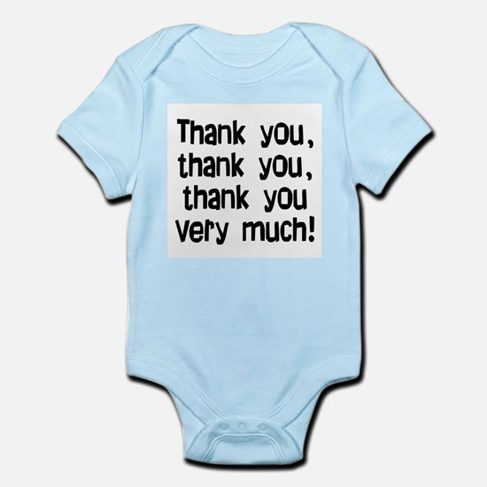 thank you thank you Infant Bodysuit