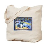 Starry-Fish Night Tote Bag