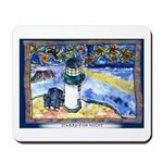 Starry-Fish Night Mousepad