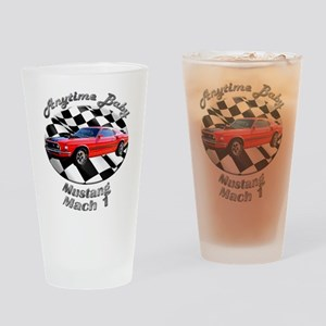 Ford Mustang Mach 1 Drinking Glass